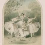 pas de quatre 1845